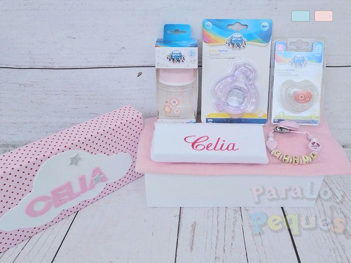 Caja bebe Babies rosa