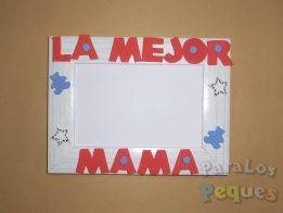 Regalo dia de la madre - Marco mejor mama