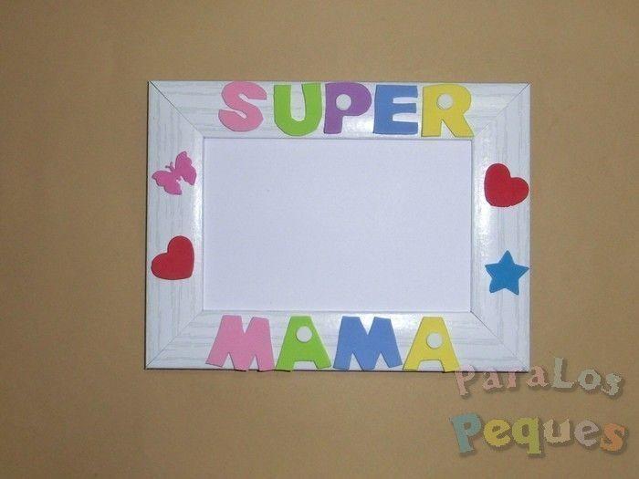 Regalo dia de la madre - Marco Super mama