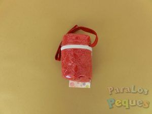 Portachupetes bebe rojo