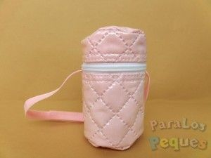 Portachupetes bebe rosa