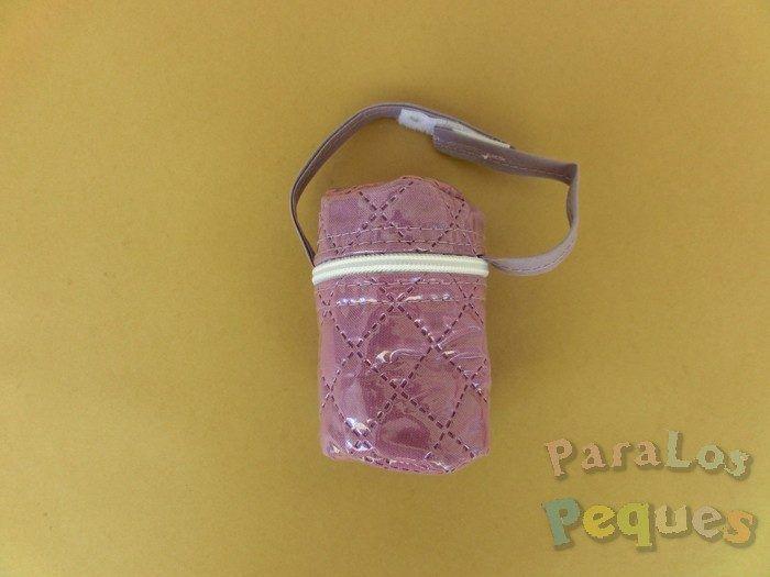 Portachupetes bebe violeta