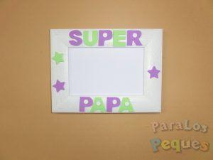 Regalo papa Marco super papa lila y verde