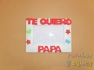 Regalo papa Marco te quiero papa rojo