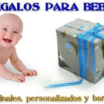 Regalos para bebes recien nacidos originales, personalizados y baratos