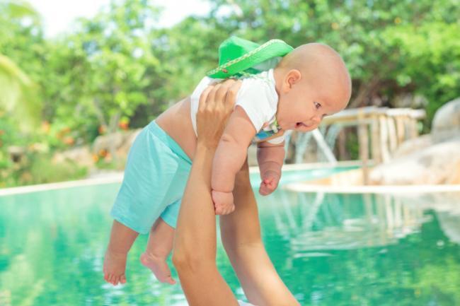 Baño piscina bebe