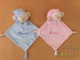 DouDou estrellas bordado para bebe