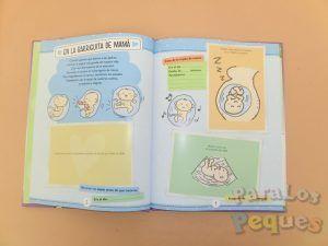 Detalle interior 3 Libro recuerdos El libro del bebé. Nuestro primer año juntos