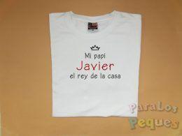Regalos originales dia del padre. Camiseta rey