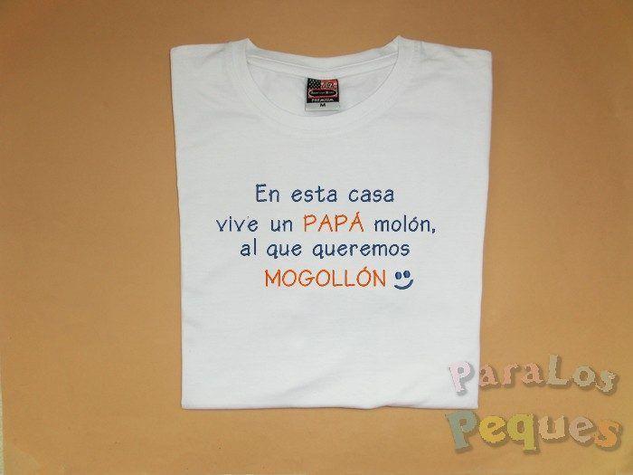 Ideas originales y practicas dia del padre. camiseta-molon2