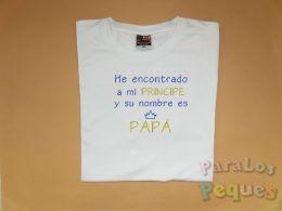 Camiseta bordada dia del padre