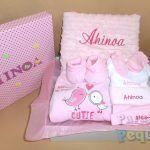 Canastilla para bebe Ahinoa 63€