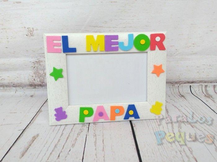 regalo para papa marco de fotos el mejor papa color mixto
