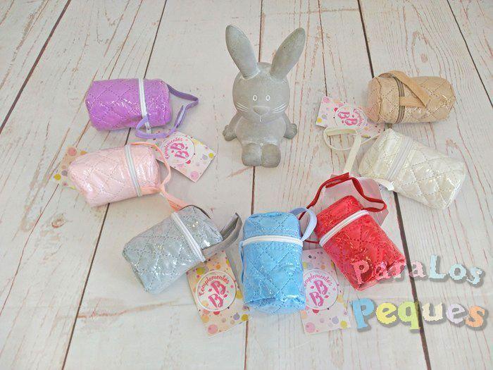 Portachupetes para bebe en diversos colores