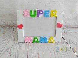 Regalo dia de la madre - Marco Super mama mixto