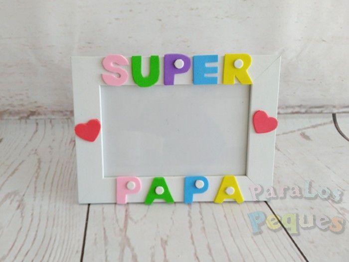 Regalo dia de la madre - Marco Super papa mixto